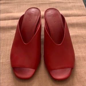 Small heel Slip ons